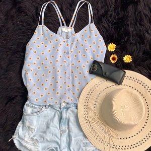 mine Tops| Sunflower Camisole 🌻 | Medium